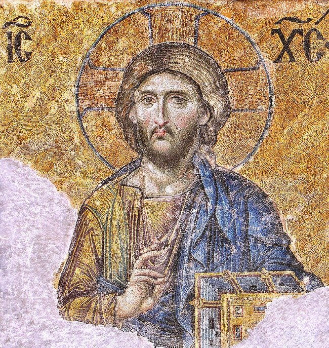 Mosaic of Christ Pantocrator