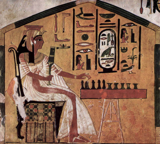 Nefertari Playing Senet
